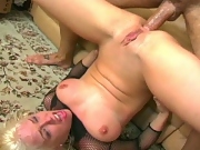 Big tit Missy gets asshole ripped